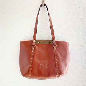 Patricia Nash Heritage Brera Leather Tote Bag